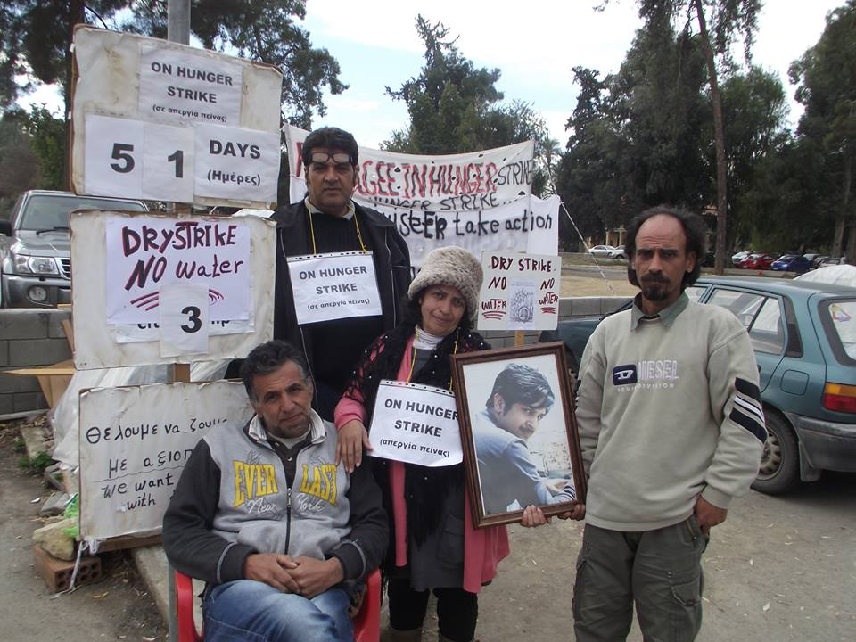 The Minister of Interior ignores meeting with hunger strikers and human rights organisations