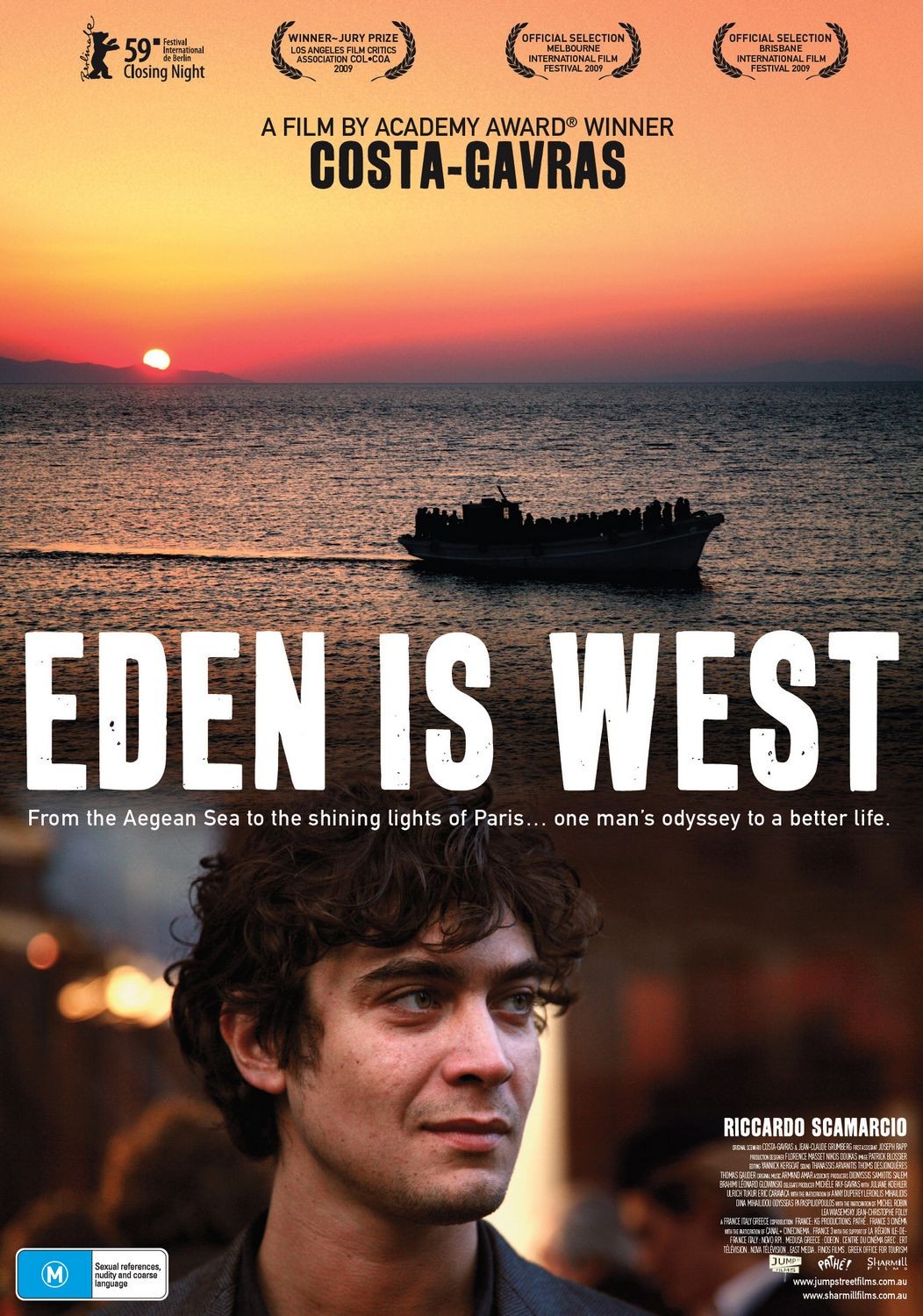 """Movie Screening: """"Eden Is West"""", on Thursday, 27 March 2014 at 20:30"""