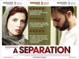 "Movie Screening: ""A Separation"", on Thursday, 24 April 2014 at 20:30"