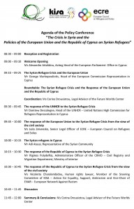 ECRE_Syrian_Refugees_Policy_Conference_Final_Program_2014.04.29