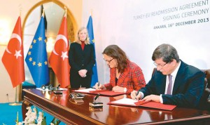 Turkey and EU singed  long-awaited visa deal in Ankara.