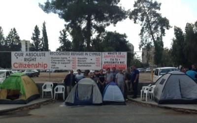 Νέες δυναμικές κινητοποιήσεις αναγνωρισμένων προσφύγων και απάτριδων Κούρδων από τη Συρία