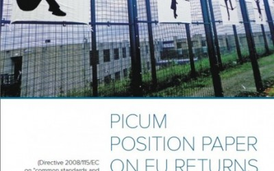 PICUM Publishes Position Paper on 'EU Return Directive' Following First Working Group Meeting on EU Migration Policies