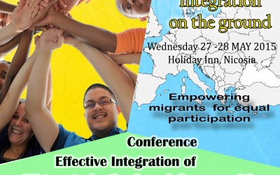 "European Conference ""Effective integration of migrants in the local communities"""