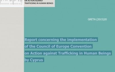 Report concerning the implementation of the Council of Europe Convention on Action against Trafficking in Human Beings by Cyprus