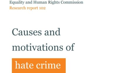 Causes and motivations of Equality – Human Rights Commission Research report