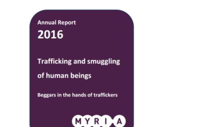 Trafficking and smuggling of human beings