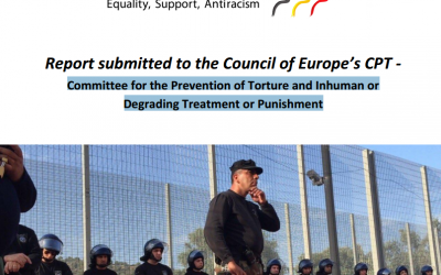 Report submitted to the Council of Europe's Committee for the Prevention of Torture and Inhuman or Degrading Treatment or Punishment
