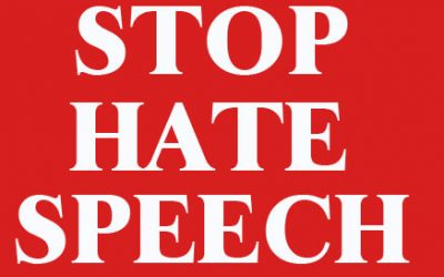 No tolerance and no excuse for hate speech and hate crimes