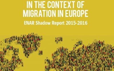 2015/16 ENAR Shadow Report on racism and migration in Europe