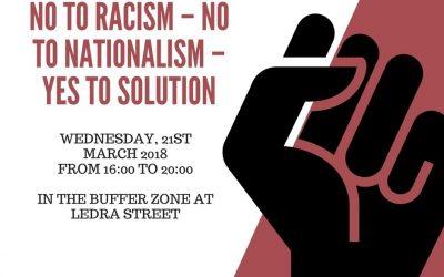 21η Μαρτίου – Παγκόσμια Ημέρα κατά του Ρατσισμού