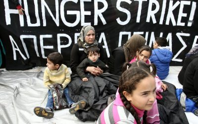 The health of the refugees on strike in danger because of the punitive approach of the Minister