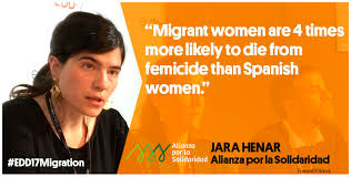Stop violence against migrant women